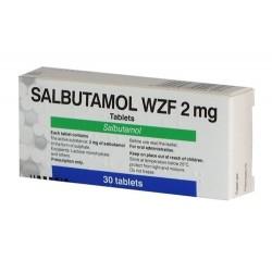 Salbutamol WZF Polfa (salbutamolum) 2 mg/tab. (30 tab.)
