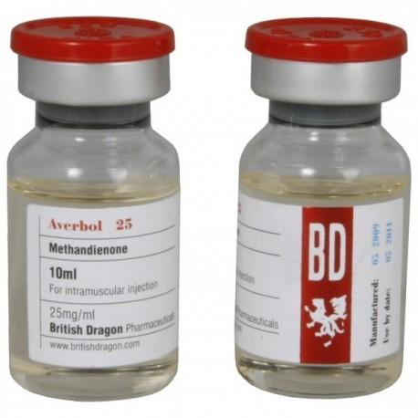 Averbol 25 (British Dragon) 25 mg/ml (injectable methandienone)