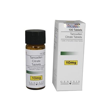Tamoxifen Citrate la Genèse, 100 tabs / 10 mg