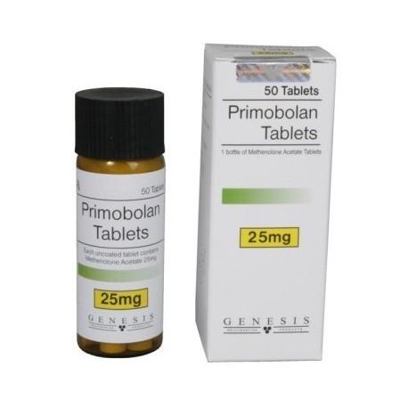 Primobolan Tablets Genesis 50 tabs / 25 mg