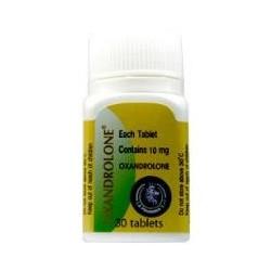 Oxandrolone 10 - 10mg / 30 tabs La Pharma