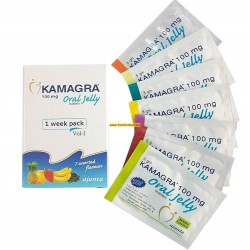 Kamagra Oral Jelly Pack 7 x 100 mg